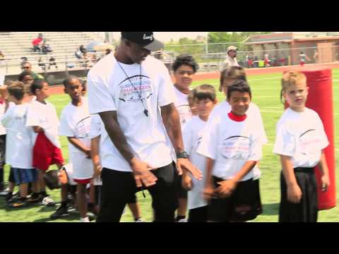 The Bobby Wagner and Omar Bolden IE Football Camp