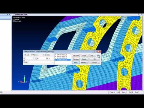 Femap 11.1 FE Modeling Enhancements