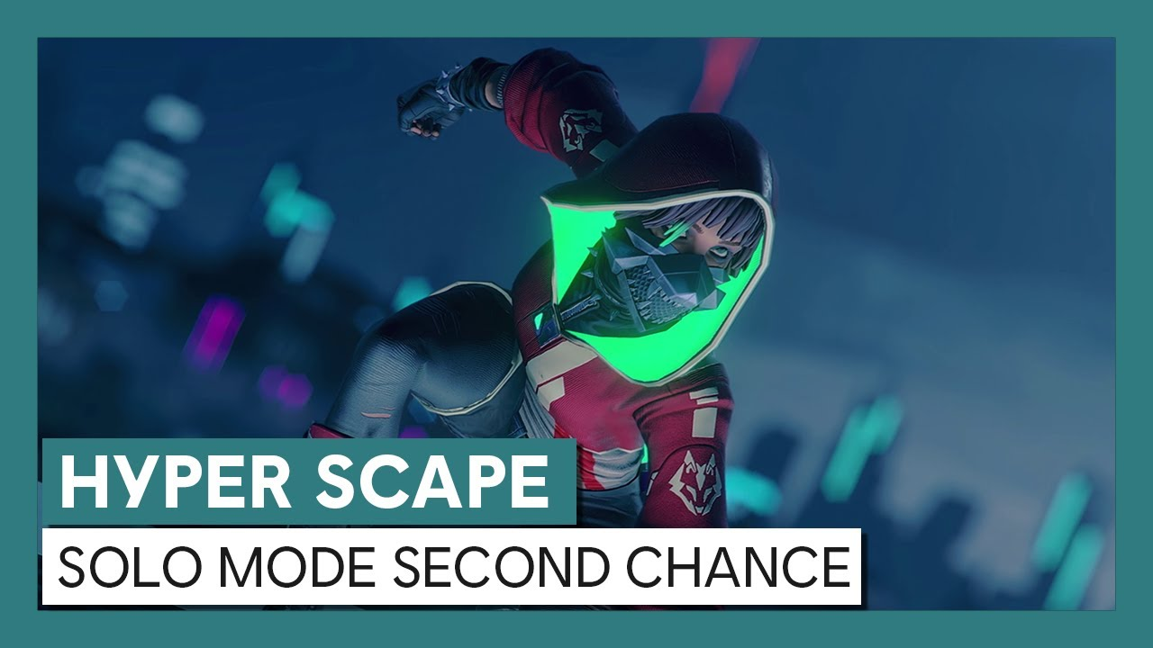 Hyper Scape: Solo Mode Second Chance Trailer
