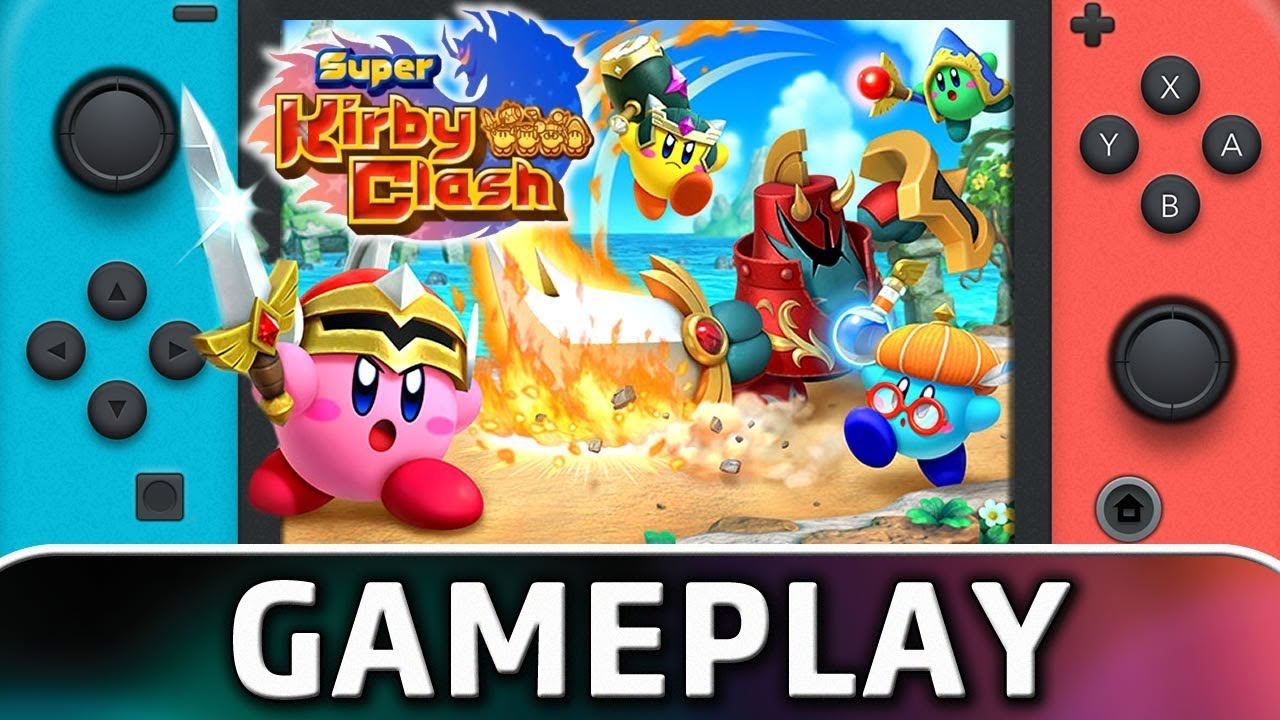 Super Kirby Clash | First 10 Minutes on Nintendo Switch