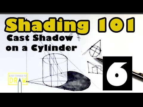 Shading 101 : Cast Shadow on Cylinder (Part6)