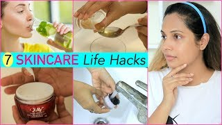 7 SKINCARE Life Hacks You Must Try…| #Monsoon #Routine #Anaysa #Sketch #Fun #ShrutiArjunAnand