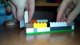 Видео как сделать лего дом