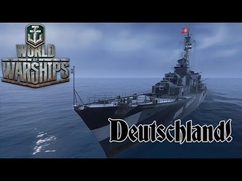 World of Warships - Deutschland!