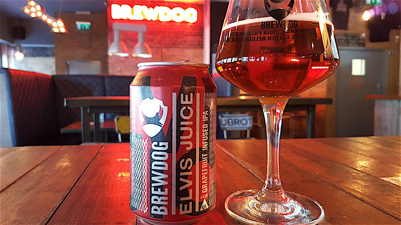 Brewdog Elvis Juice Grapefruit Infused IPA | Craft Beer ... | 1280 x 720 jpeg 222kB