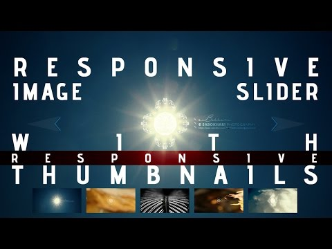 Responsive Image Slider with Thumbnails