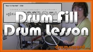 ★ Bullet In Your Head (Rage Against The Machine) ★ Drum Lesson | How To Play Drum Fill (Brad Wilk)