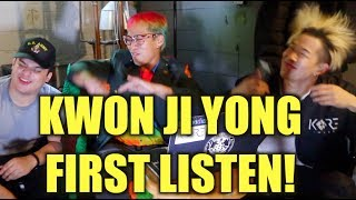 G-DRAGON - KWON JI YONG FIRST LISTEN WITH SALV AND JC PARK