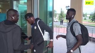 Arrivée des Lions du Sénégal à Iekaterinbourg