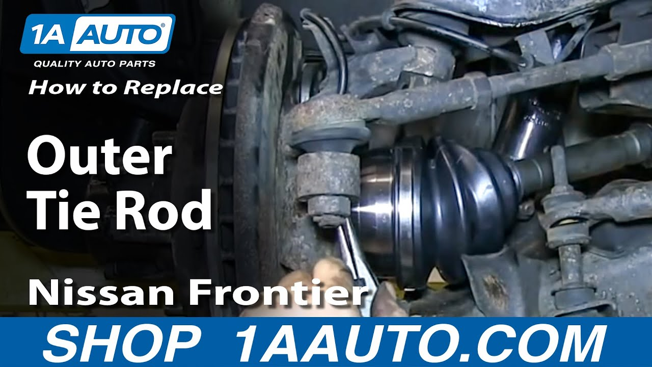 How To Install Replace Steering Outer Tie Rod 1998 04