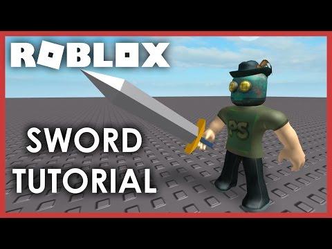[ROBLOX Tutorial] - How to make a Sword