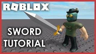 [ROBLOX Tutorial] - How to make a Sword