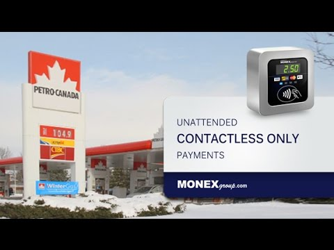 MONEXgroup's Tap Only Unattended Payments Solution at Tire Inflators and Car Vacuum Machines