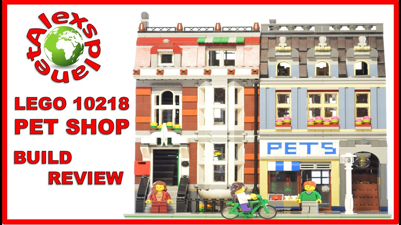 lego pet shop animated stop motion build review lego. Black Bedroom Furniture Sets. Home Design Ideas