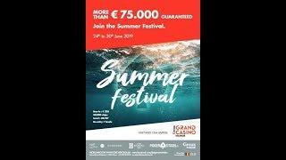 Main Event Day 2 - Summer Festival - Grand Casino de Namur