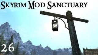 Skyrim Mod Sanctuary 26 - URWL, Lanterns and Winterhold Ruins