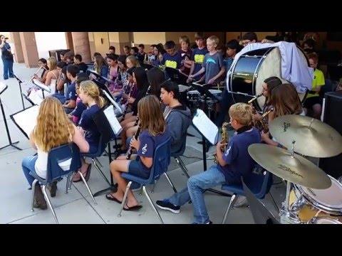 Erle Stanley Gardner Middle School - Final Concert 2015