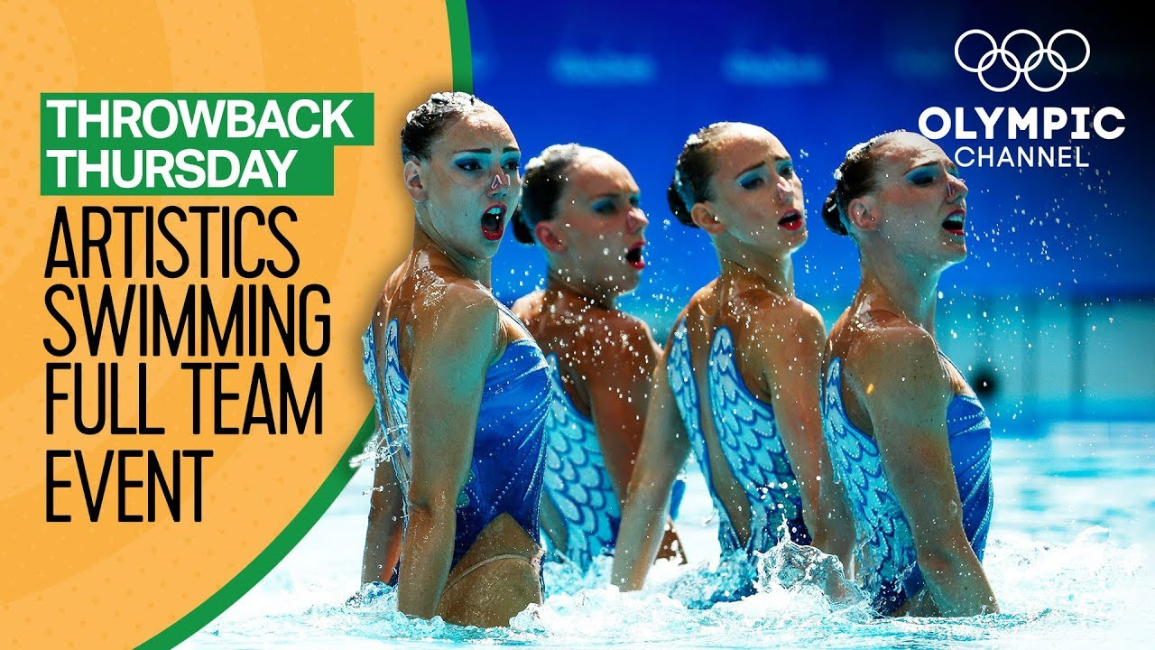 Artistic Swimming - Full Team Event from Rio 2016 | Throwback Thursday