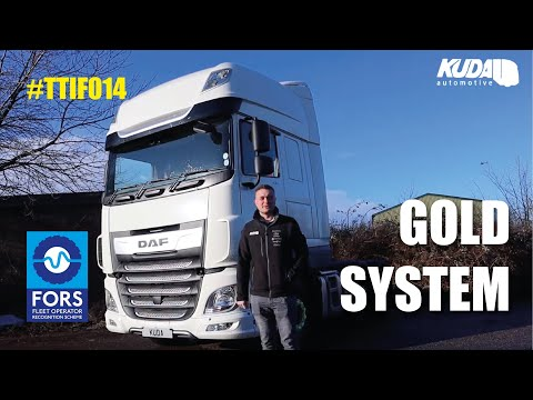 FORS Gold System Walk Through on DAF XF 106 - Thank Truck It's Friday #014