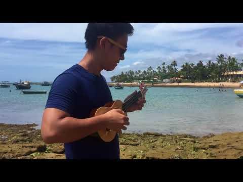 Jason Mraz I&39;m Yours - Rodrigo Yukio Ukulele CoverBeach Session