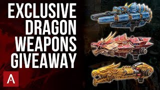 Dragon Weapons Gameplay + EXCLUSIVE GIVEAWAY / War Robots Live Stream
