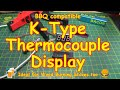 #137 K-Type Thermocouple Display