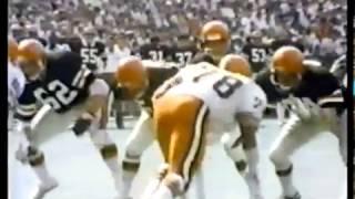 1977 Browns at Bengals Game 1