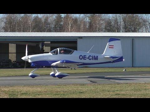 Vans Aircraft RV-9A landing at Airfield Punitz | OE-CIM