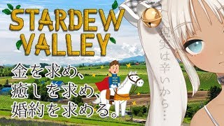 [LIVE] 【StardewValley】石油王に会いたい【婚活農家】