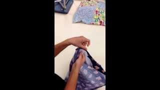Putting muslin into fabric