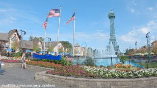Kings Island (4K Walking Tour) Mason Ohio