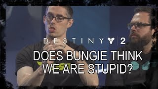 Destiny 2: Does Bungie Think We're Stupid? (Class Rant)