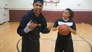 1 V 1 AGAINST FEMALE HOOPER GONE WRONG!! LOSER GETS WORST PUNISHMENT EVER!!!