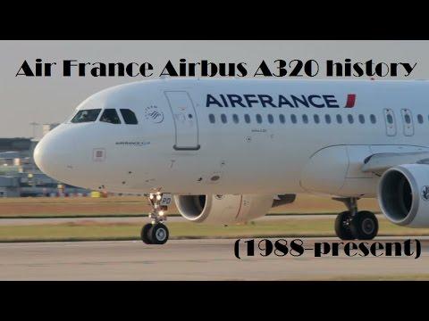 Fleet History - Air France Airbus A320 (1988-present)