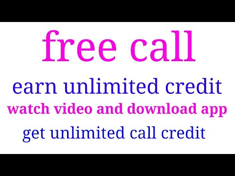 New app free call anywhere world unlimited credit free call