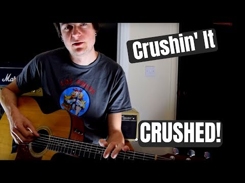 Crushin' It - Brad Paisley (Guitar Lesson) **Acoustic**