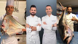 TURKİSH CHEF BRO'S SEAFOOD SHOW. Faruk chef & mehmet chef