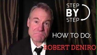 How to Do a Robert Deniro Impression by Jim Meskimen