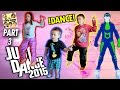 FGTEEV Kids play Just Dance 2015! Who Has The Best Moves? (One Direction, Austin Mahone, Maroon 5)