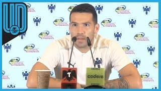 """Ante las dos derrotas consecutivas de Monterrey en la Liga MX, Celso Ortiz señaló que hay tranquilidad en el equipo a pesar de los dos tropiezos.  """"Estamos tranquilos. A nadie le gusta perder, pero es parte del juego, hay cosas a mejorar. Estamos a tiempo. No hay que alarmarse, nadie quiere perder y hay dejar eso de lado, perdiendo dos partidos quedamos en cuarto lugar, quiere decir que los otros tampoco pudieron""""."""