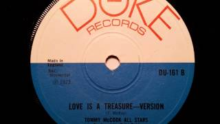 Tommy McCook All Stars Love Is A Treasure Version - Duke