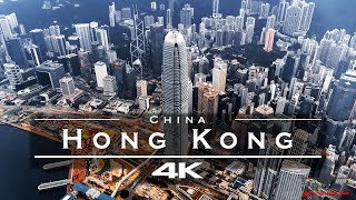 Hong Kong 🇭🇰 - by drone [4K]