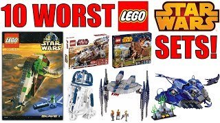 Top 10 WORST LEGO Star Wars Sets EVER MADE!
