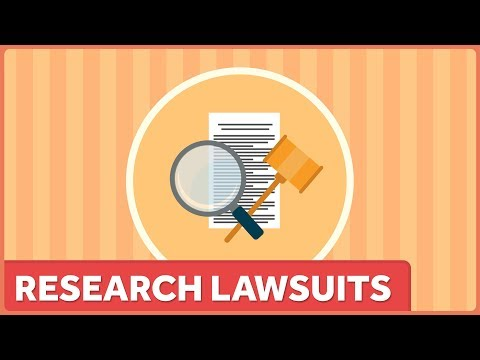 Lawsuits as a Tool to Stifle Research