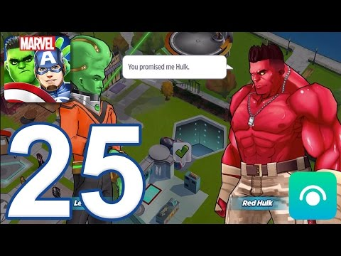 MARVEL Avengers Academy - Gameplay Walkthrough Part 25 - Level 10 (iOS, Android)