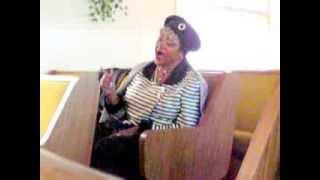 """Sis Bertha Thomas and Sis Beatrice Hutson....Near thy cross! Singing in the spirit"" 2/9/14"
