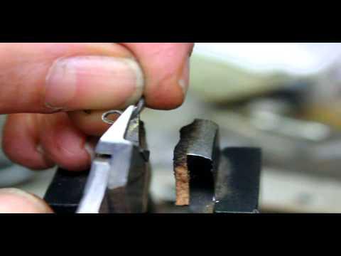 making a miniature vacuum tube triode