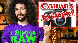 Canon's ANSWER??? Fuji's WEIRD New Camera!