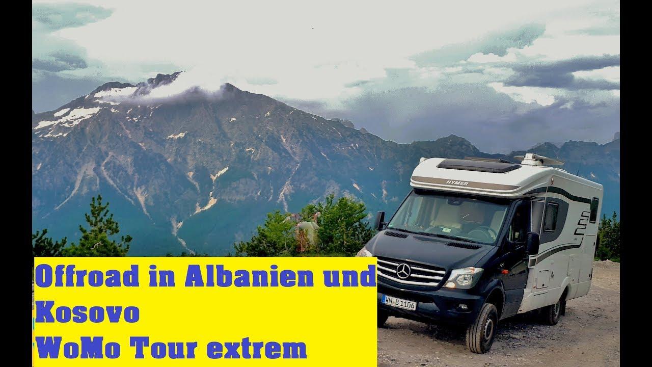 Albanien - Kosovo Wohnmobil Offroad Urlaub in das Theth Tal