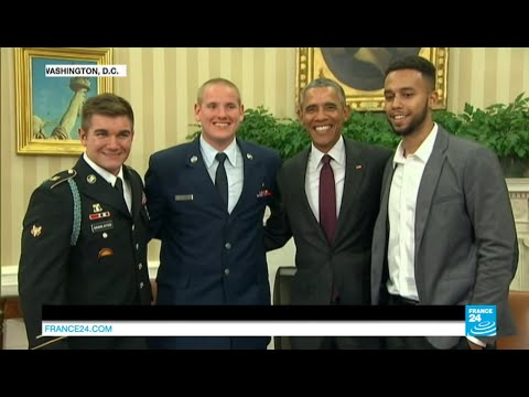 "Barack Obama Thanks Thalys Train Attack Heroes ""the Very Best Of America"""